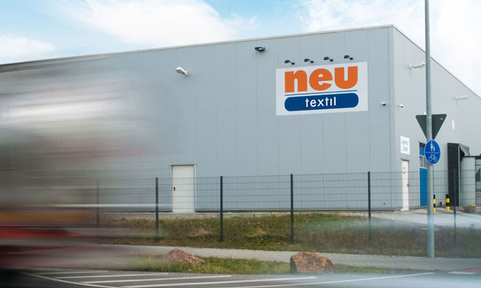 Neu Textil in Worms Textilindustrie