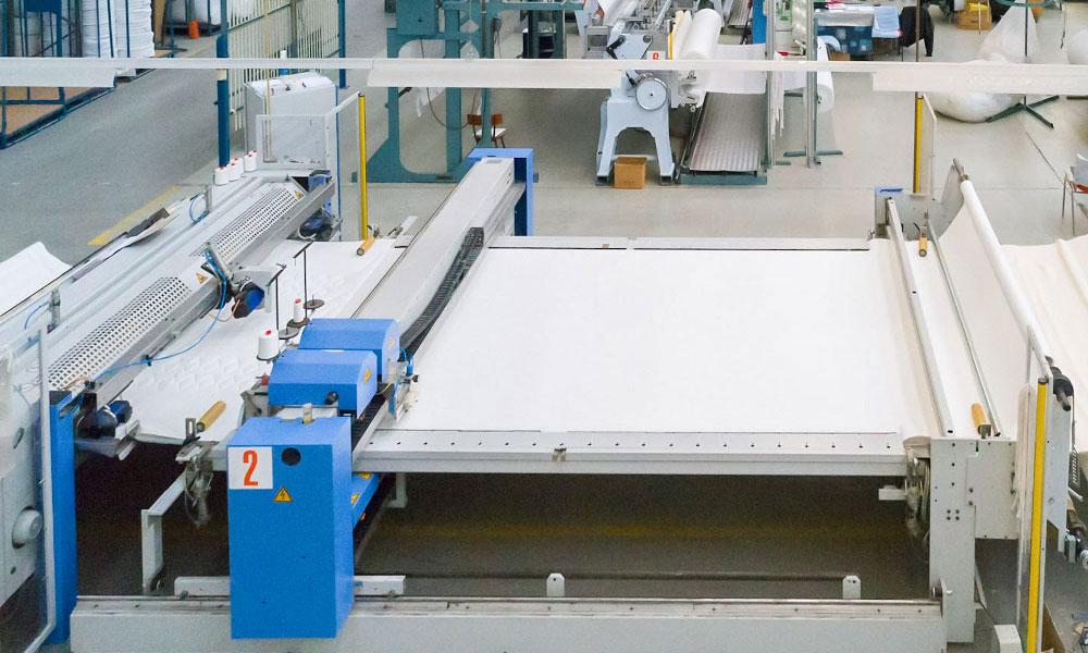 Textilfabrik am Rhein